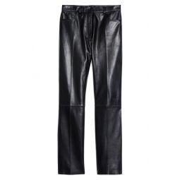 Lambskin Leather Pants
