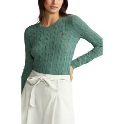 Julianna Wool & Cashmere Cable Sweater