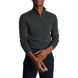 Blackhall Quarter Zip Wool Pullover