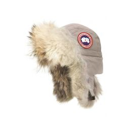 Aviator Hat with Genuine Coyote Fur Trim