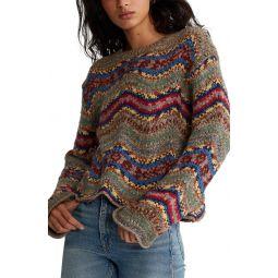 Wavy Wool Sweater