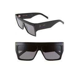 60mm Flat Top Sunglasses