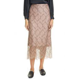 Lace Tulle Slip Skirt