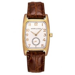 American Classic Boulton Leather Strap Watch, 27mm x 31mm