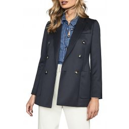 Astrid Wool Blend Trench Coat
