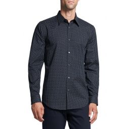 Sylvain Fleck Button-Up Shirt