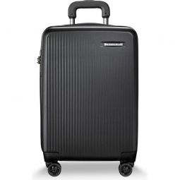 22-Inch Domestic Expandable Spinner Wheeled Suitcase