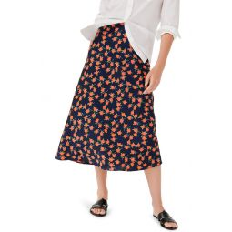 Poppy Fields Pull-On Slip Skirt
