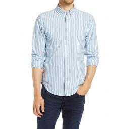 Fit 2 Tomlin Slim Fit Stripe Button-Down Shirt