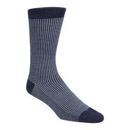 Check Dress Socks