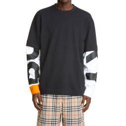 Fernford Layered Long Sleeve T-Shirt