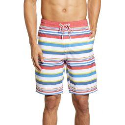 Hope Town Stripe Swim Trunks
