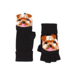 terrier pop top mittens