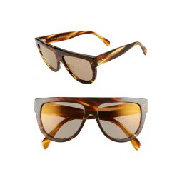 Celine 58mm Universal Fit Flat Top Sunglasses