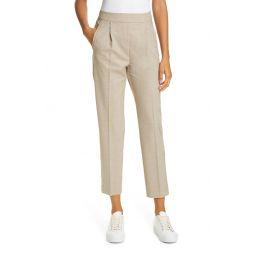 Jay Metallic Satin Side Stripe Trousers