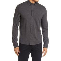 Herringbone Button-Down Shirt