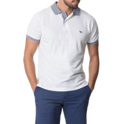 New Haven Sports Fit Pique Polo