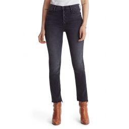 The Pixie Dazzler Fray Hem Ankle Jeans