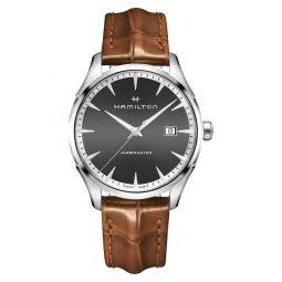 Jazzmaster Gent Leather Strap Watch, 40mm