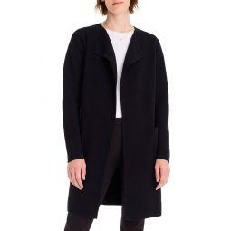 Juliette Collarless Sweater Blazer
