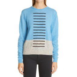 Mohair Blend Crewneck Sweater