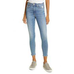 Nina High Waist Ankle Skinny Jeans