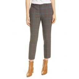 Treeca 4 Plaid Crop Pants