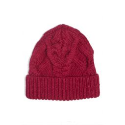 Ryamy Cable Stitch Wool Beanie