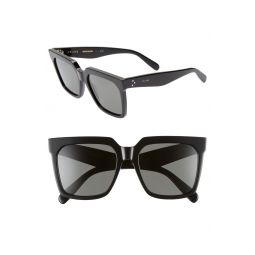 55mm Special Fit Polarized Square Sunglasses