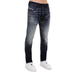 Krooley JoggJeans Distressed Extra Slim Straight Jeans
