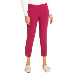 Slim Stretch Crepe Pants