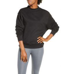 Freestyle Mock Neck Sweatshirt