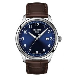 Gent XL Classic Leather Strap Watch, 42mm