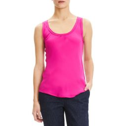 Scoop-Neck Georgette Tank Top 외 1종