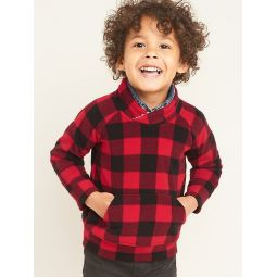 Micro Fleece Mock-Neck Pullover for Toddler Boys