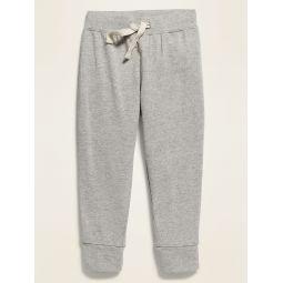 Functional Drawstring Jersey Pants for Toddler Boys