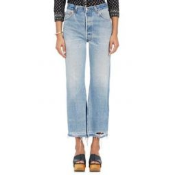Leandra Crop Flared Levis Jeans