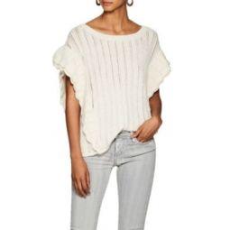 Dafgan Ruffle Alpaca-Blend Sweater