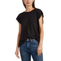 Amery Lace-Up T-Shirt