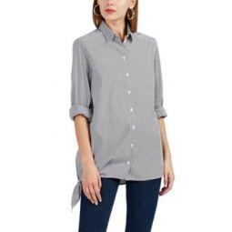 Uneal Striped Cotton-Blend Shirt