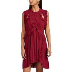 Aya Ruffle Dress