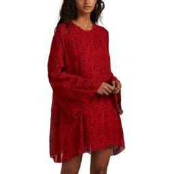 Appoline Paisley Georgette Dress