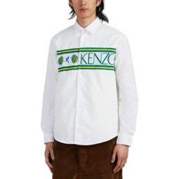 Logo-Inset Cotton Oxford Shirt