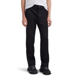 Wool-Blend Gabardine Slim Trousers