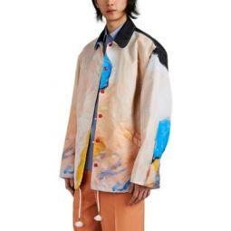 Kiss-Print Tech-Twill Coachs Jacket
