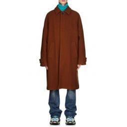 Virgin Wool Melton Opera Trench Coat