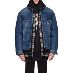 Layered Oversized Puffer Jacket