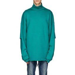 Layered Turtleneck Sweatshirt