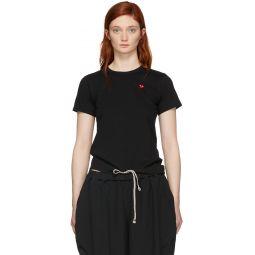Black Small Heart T-Shirt