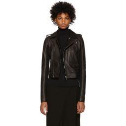 Black Leather Stooges Jacket